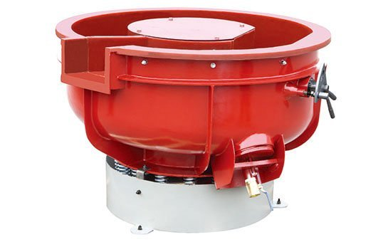 vibratory finishing machine bowl