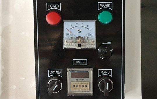 Centrifugal barrel finishing system control box