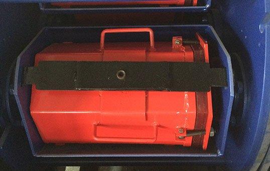 Centrifugal barrel finishing system removable barrel