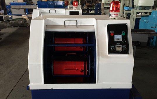 Centrifugal barrel finishing system