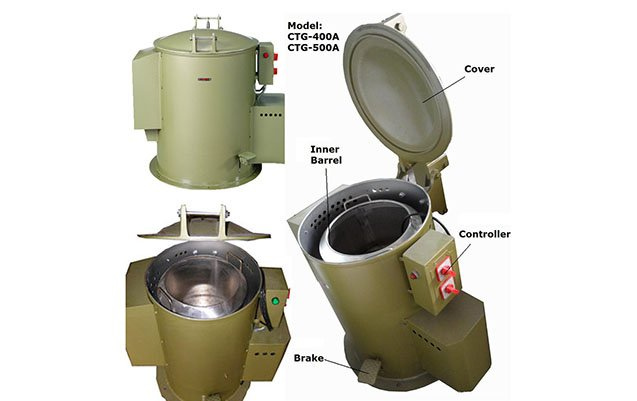 Economic-centrifugal-spin-dryer-for-electroplating