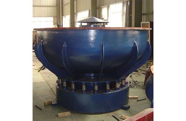 PZGB1500-vibratory-finishing-machine-with-Straight-wall-bowl-details