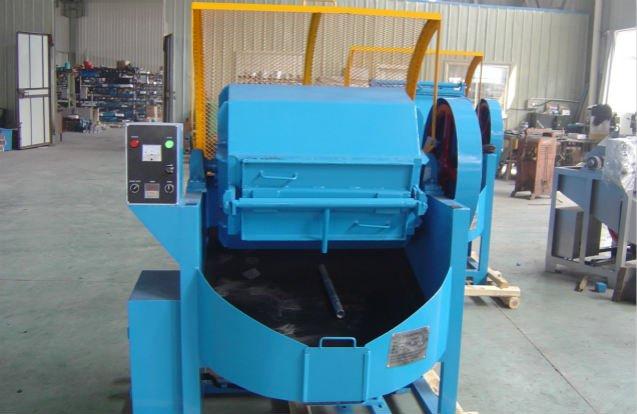 Single-barrel-polishing-finisher-machine