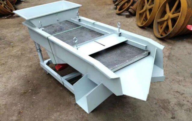 Vibratory-Sieve-machine-double-layer-design