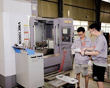 CNC component machining