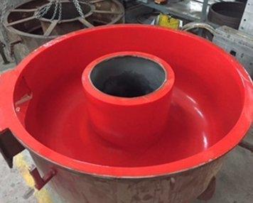 Automatic PU casting