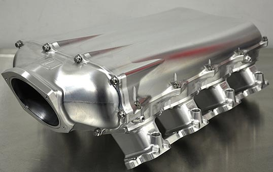 Billet-Aluminum-Intake-Manifold-Polishing