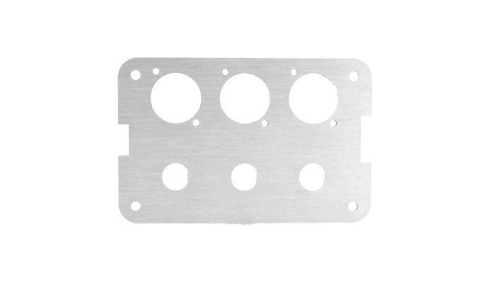 Deburring-aluminum-laser-cut-part