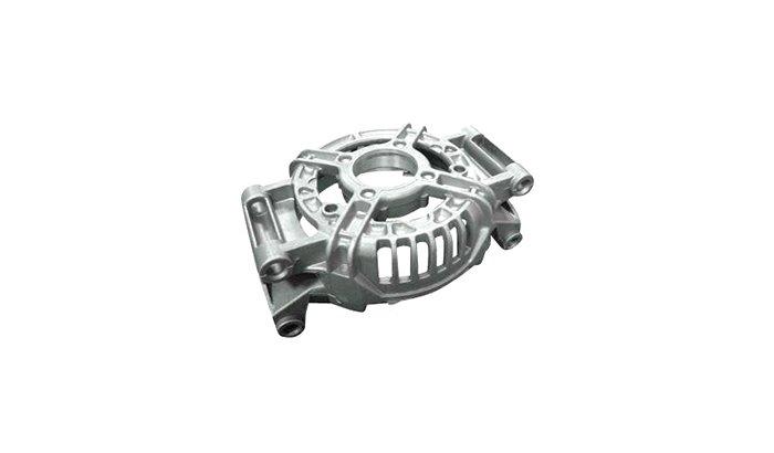 Polishing-aerospace-aluminum-cast-part