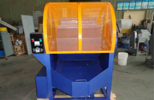 Single-barrel-rotary-tumbling-machine