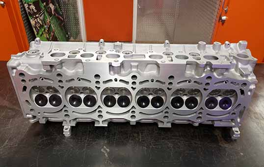 Titanium-Turbo-Cylinder-Heads-Polishing