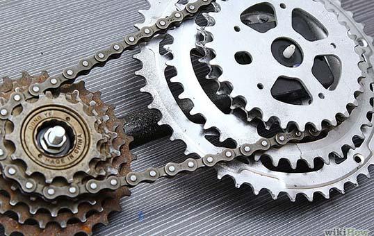 bicycle-gear-polishing