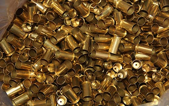 brass-ammo-pistol-cases-polishing