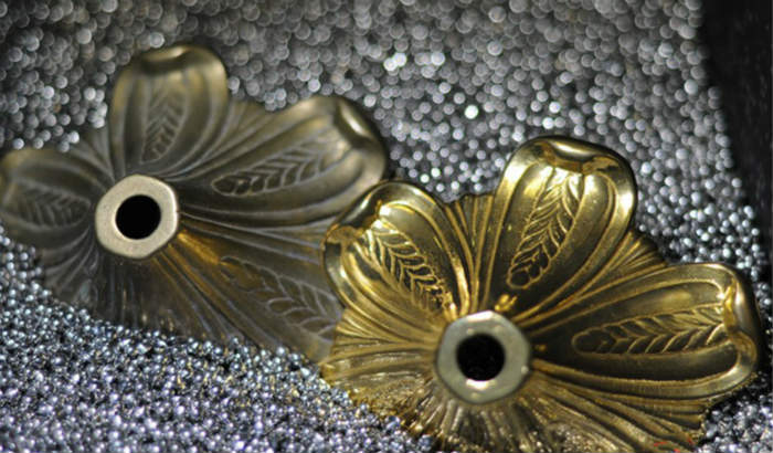 brass-parts-vibratory-ball-burnishing-with-steel-tumbling-media