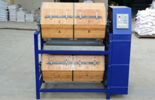 dry-deburring-polishing-wood-barrel-rotary-polisher