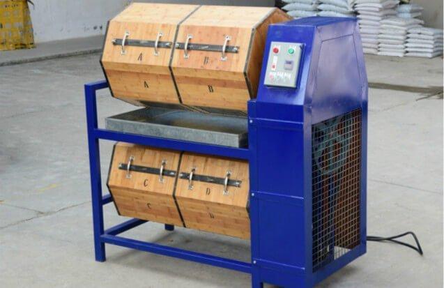 dry-polishing-wood-barrel-rotary-polisher