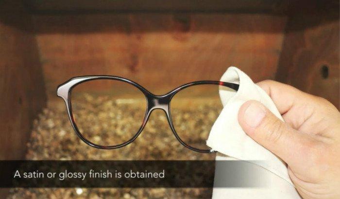 eyeglass-frame-polishing-in-rotary-tumbler-machine