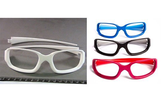 Additive-Manufactured-Eyeglasses-3D-Post-Processing-Polishing-Dying-Nylon