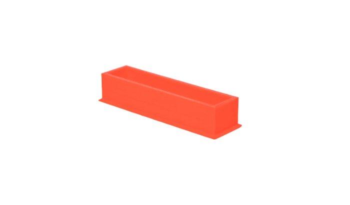 Deflashing-plastic-3d-printed-part