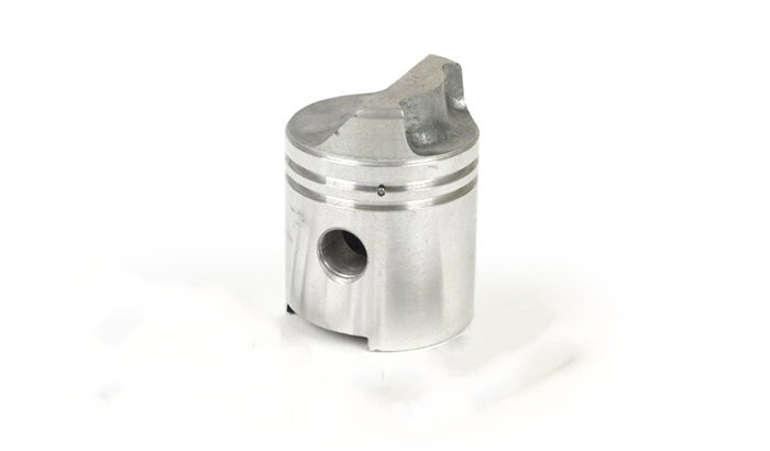 Deflector-piston