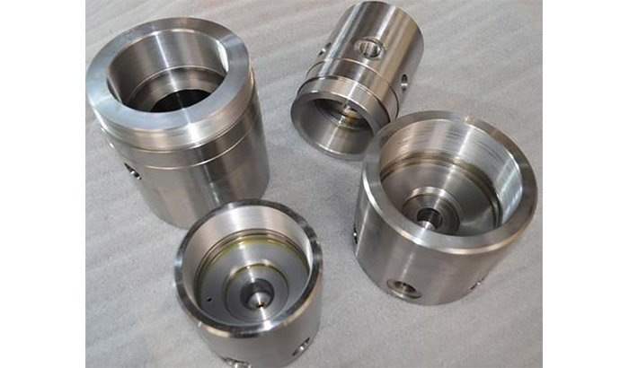 Machined-piston