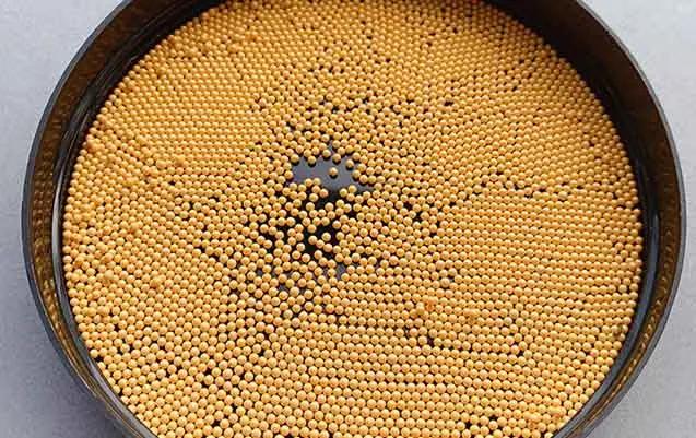 Ceria Stabilized Zirconia Beads 6