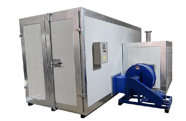Gas/Diesel Powder Coating Large Oven