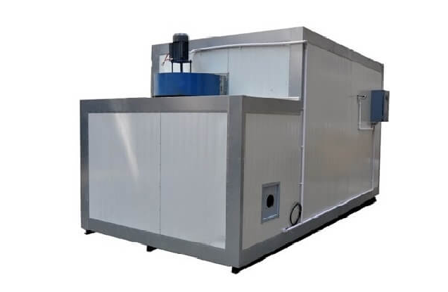 Diesel Fired Powder Coating Curing Oven