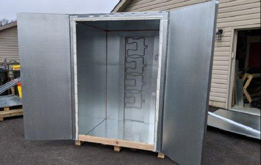 4x4x6 powder coat oven