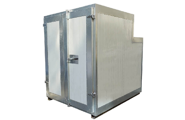 Small Batch Powder Coating Gas Oven