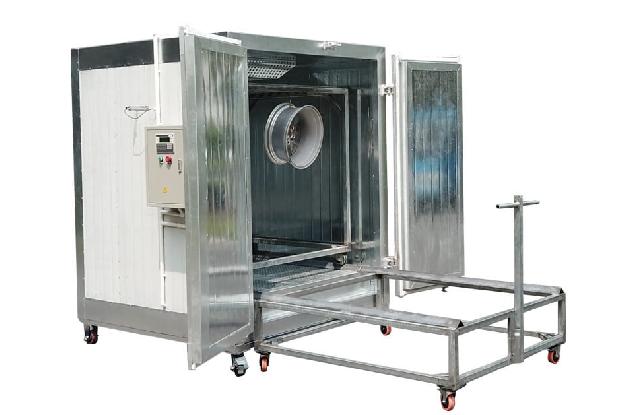 Electric Powder Coating Batch Oven