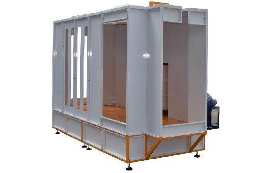 Automatic Powder Spray Booth KL-S-3145-1