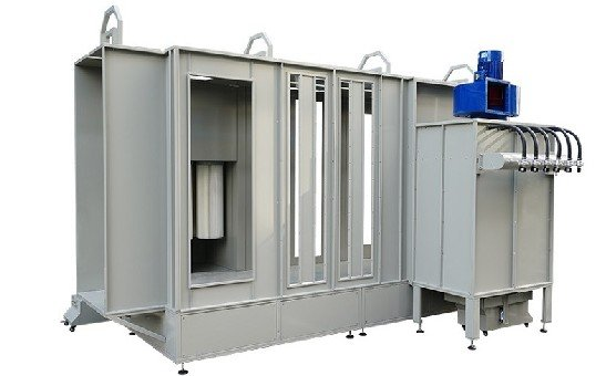Automatic Type Tunnel Powder Coating Booth KL-S-1