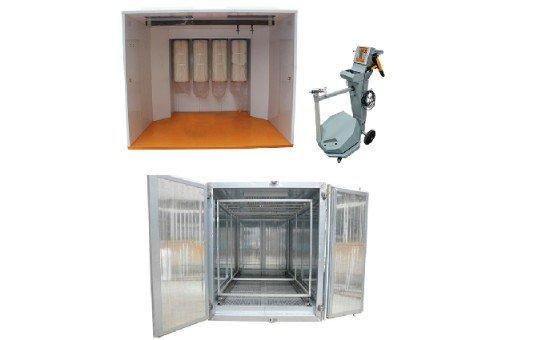 Batch Powder Coating Equipment Package