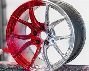 Car Wheel Powder Coating