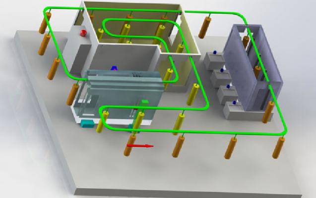 Electrostatic Powder Coating Line 1