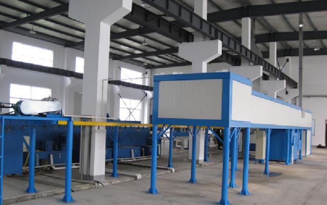 Electrostatic Powder Coating Line 4