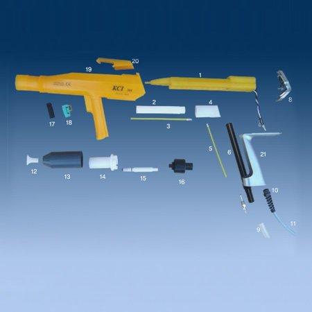 KCI 201 Manual Powder coating gun