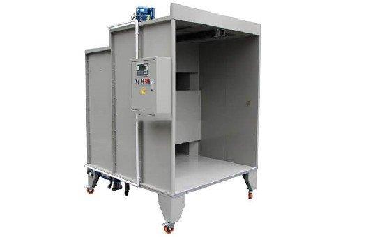 KL-S-1517 Manual Powder Coating Booth-2