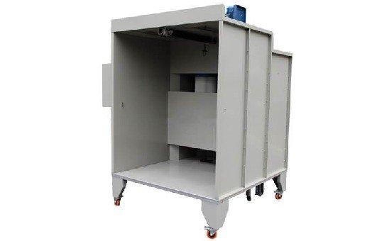 KL-S-1517 Manual Powder Coating Booth-3
