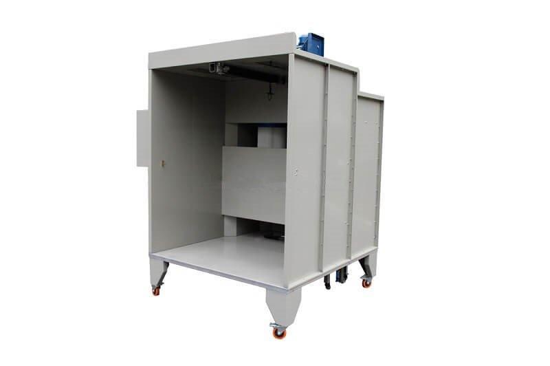 KL-S-1517 Manual Powder Coating Booth-5