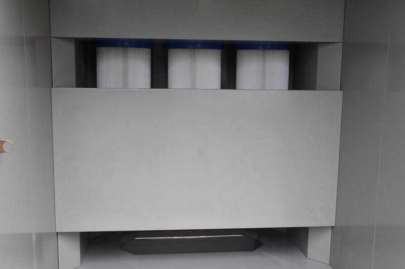 KL-S-1517 Manual Powder Coating Booth-6