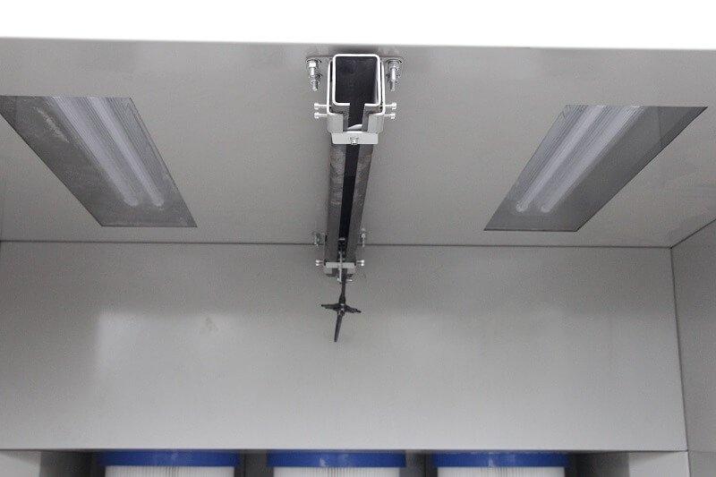 KL-S-1517 Manual Powder Coating Booth-8