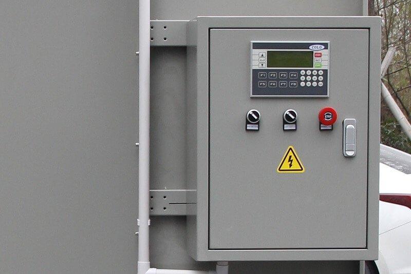 KL-S-1517 Manual Powder Coating Booth-9