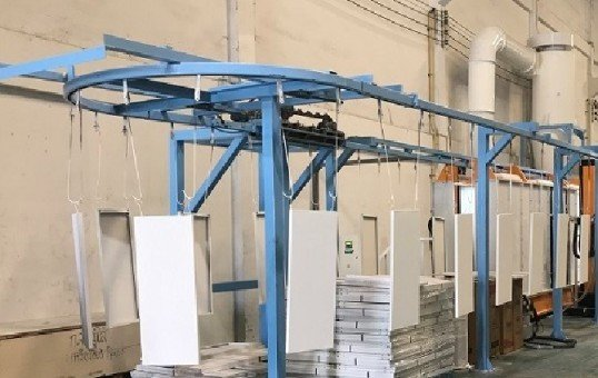 Light Weight Overhead Conveyor System
