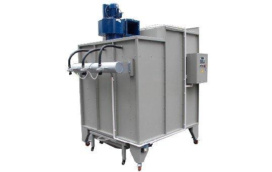 Manual Powder Coating Booth KL-S1517-3