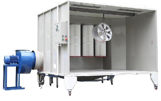 Manual Powder Spray Booth KL-S-2315 -2