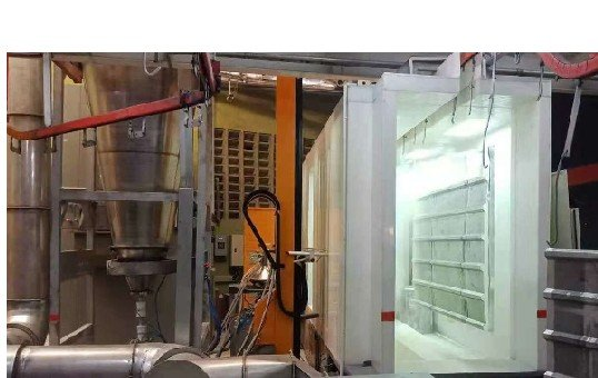 PP Plastic Automtic Powder Spray Booth -KL-S-1