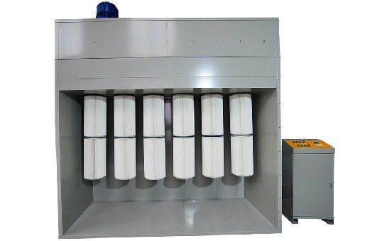 Powder Booth Collection Module, Filter Cartridge Collector Module-KL-S-1
