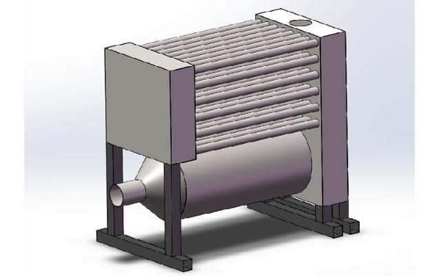 Powder Coating Oven Heat Exchanger
